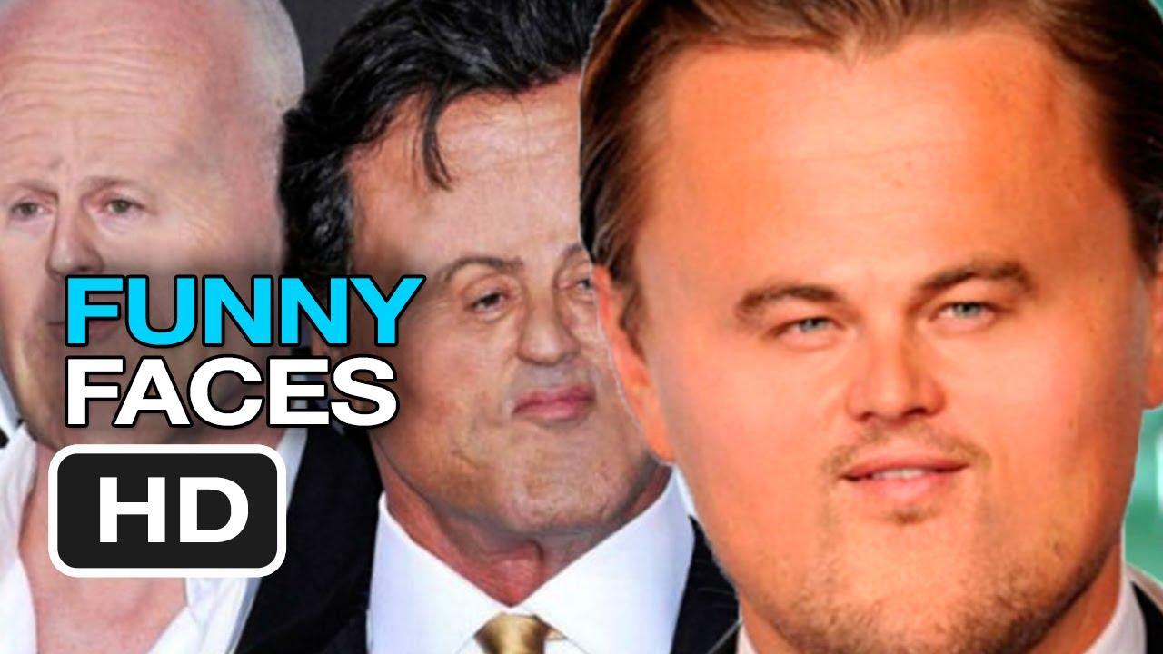 Celebrity Funny Faces 10 Desktop Background