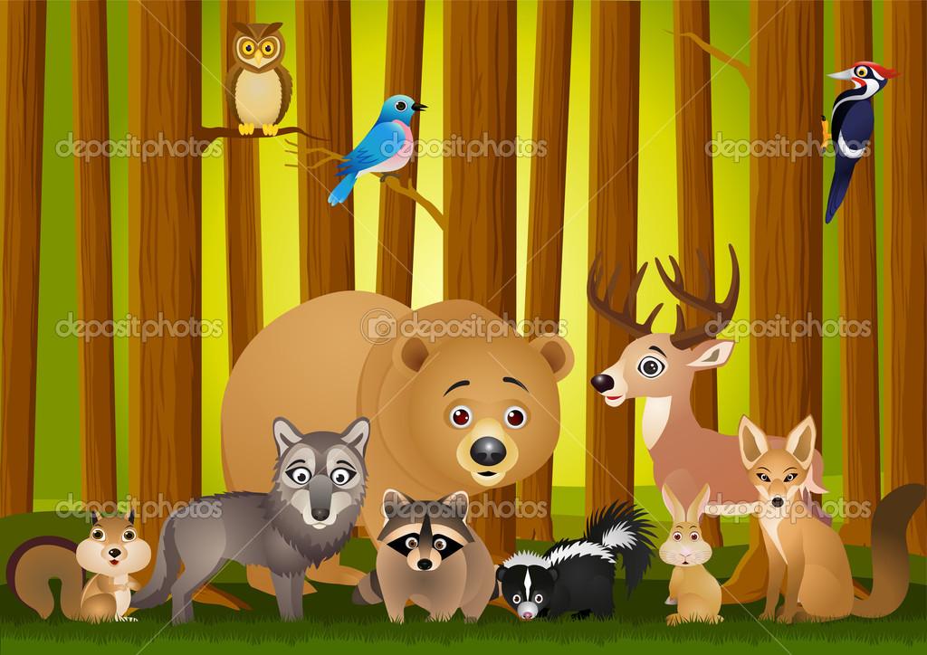 Funny Animals Cartoons 6 Desktop Wallpaper