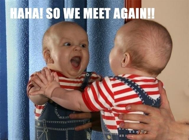 Funny Baby Pics 1 Desktop Wallpaper