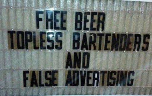 Funny Bar Chalkboard Signs 24 Wide Wallpaper