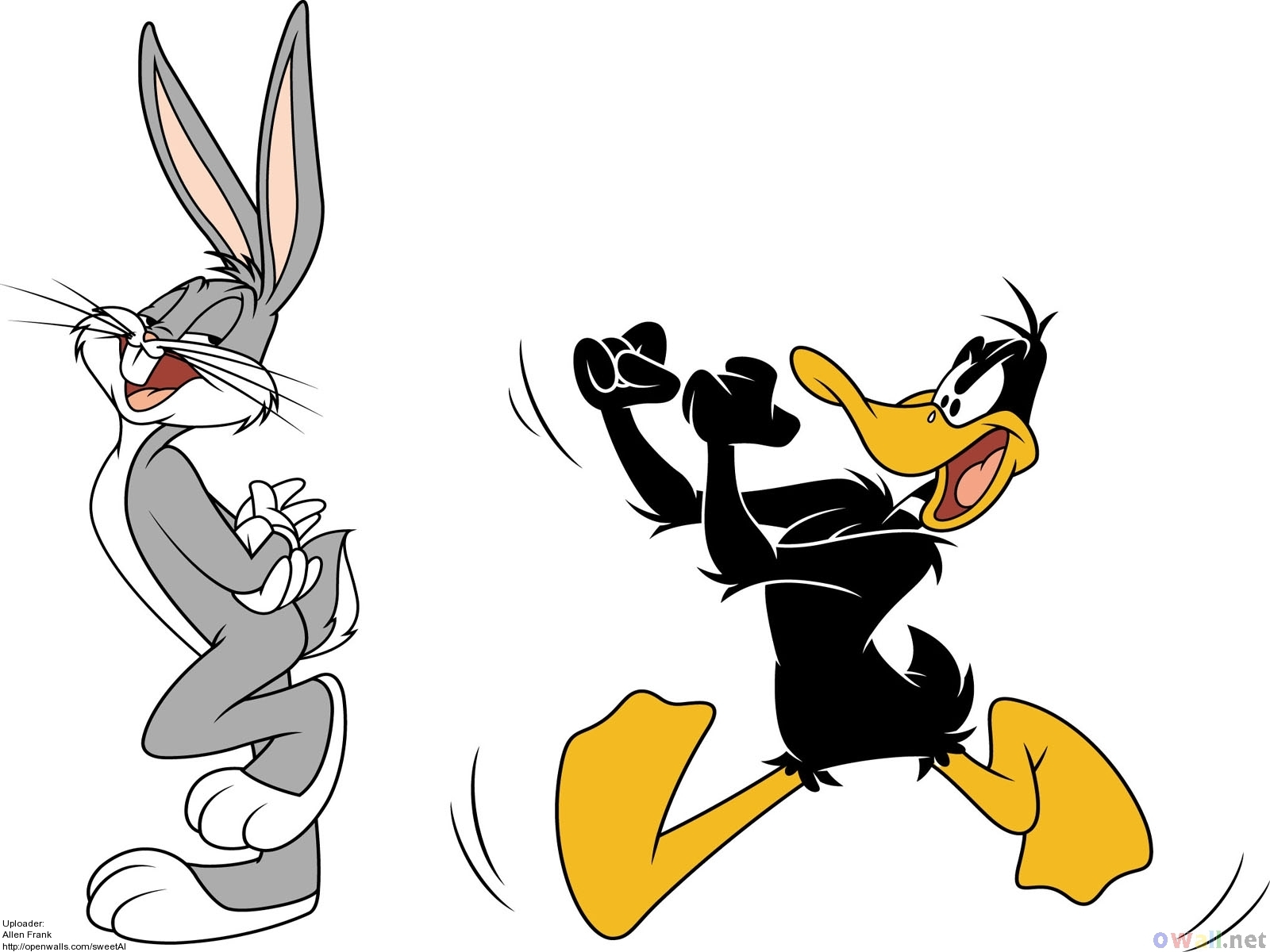 Funny Bugs Bunny Cartoon 3 Background