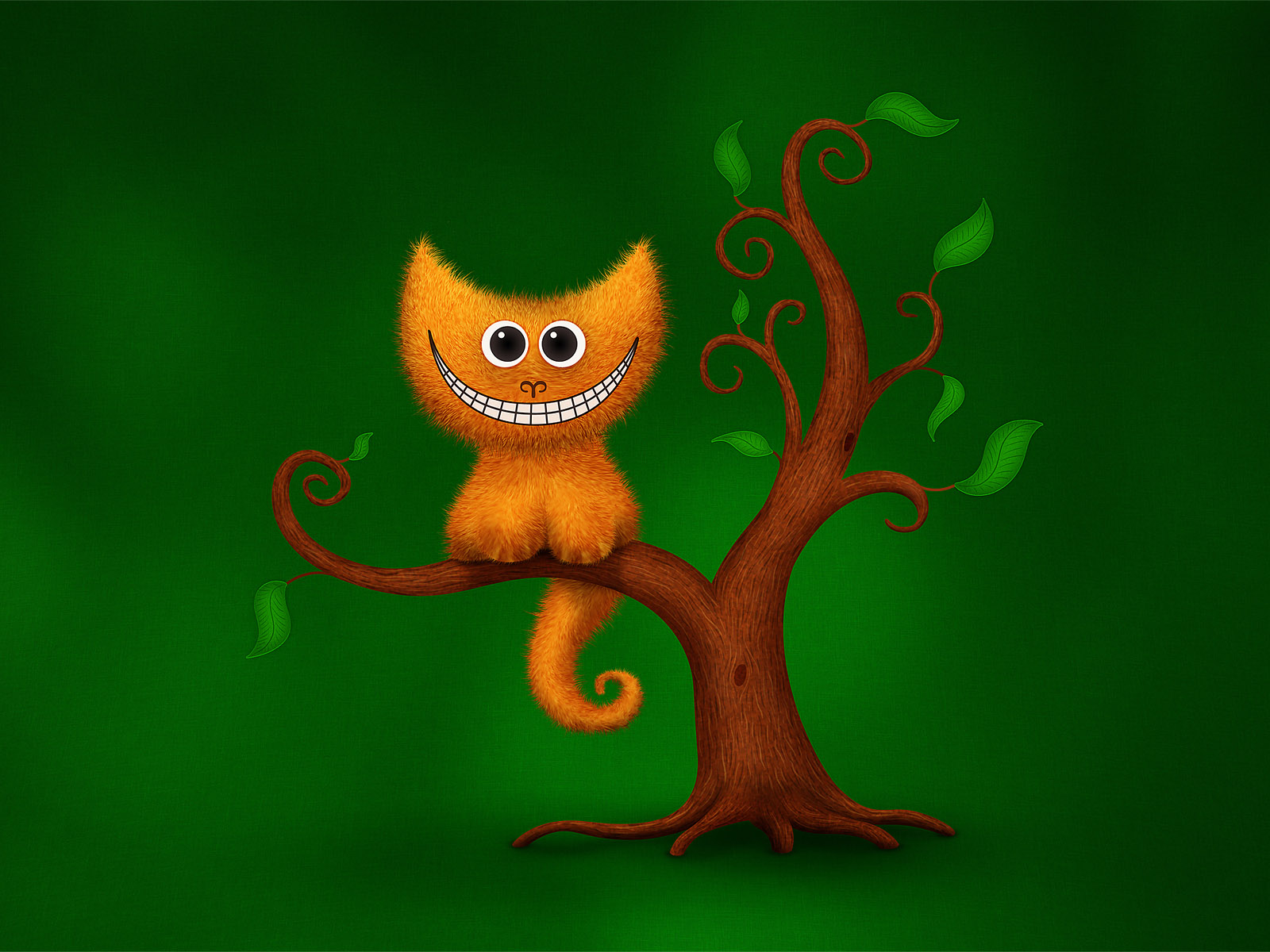 Funny Cartoon Cat 14 Hd Wallpaper