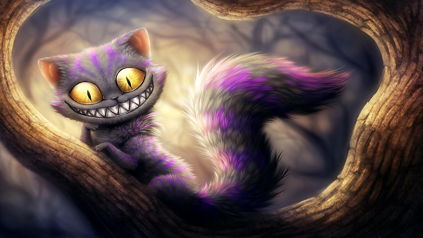 Funny Cartoon Cat 37 Cool Hd Wallpaper