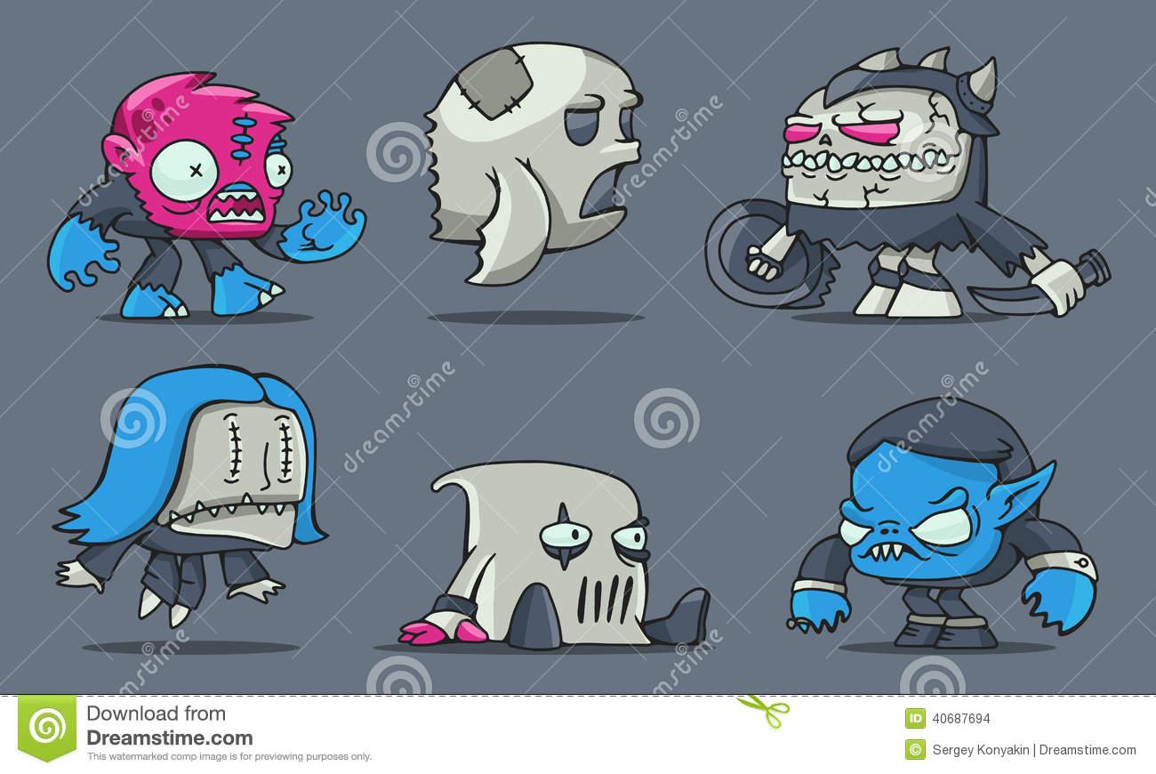 Funny Cartoon Games 8 Desktop Wallpaper