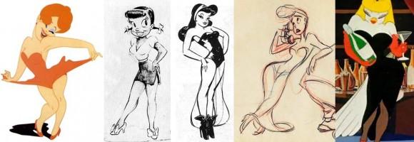 Funny Cartoon Pictures Women 5 Desktop Wallpaper