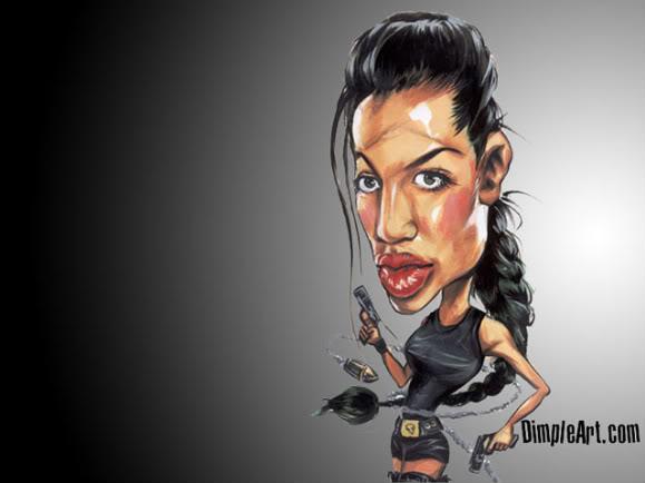 Funny Celebrity Drawings 38 Desktop Wallpaper