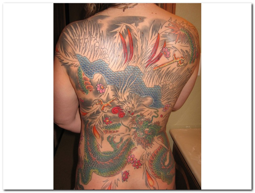 Funny Chinese Tattoos 8 Desktop Background
