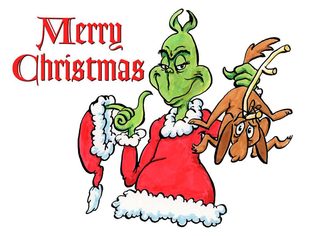 Funny Christmas Cartoon 26 Hd Wallpaper