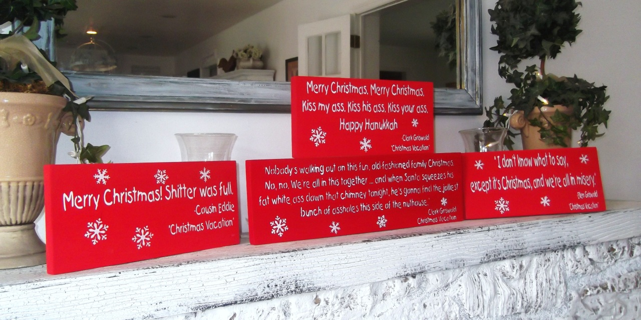 Funny Christmas Signs 24 Wide Wallpaper