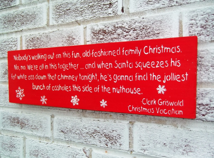 Funny Christmas Signs 7 Background