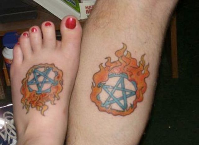 Funny Couple Tattoos 12 Free Wallpaper
