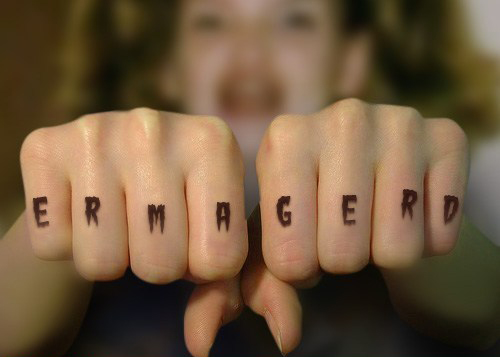 Funny Knuckle Tattoos 51 Background Wallpaper