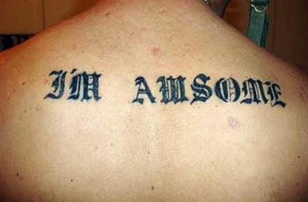 Funny Misspelled Tattoos 5 High Resolution Wallpaper