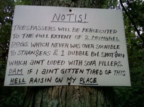 Redneck Funny Signs 15 Cool Wallpaper