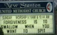 Funny Church Signs 30 Background Wallpaper