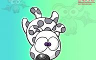 Funny Animals Cartoon 2 Background Wallpaper