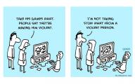 Funny Cartoon Games 34 Background Wallpaper