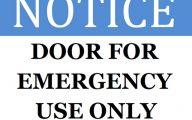 Funny Door Signs 2 Background