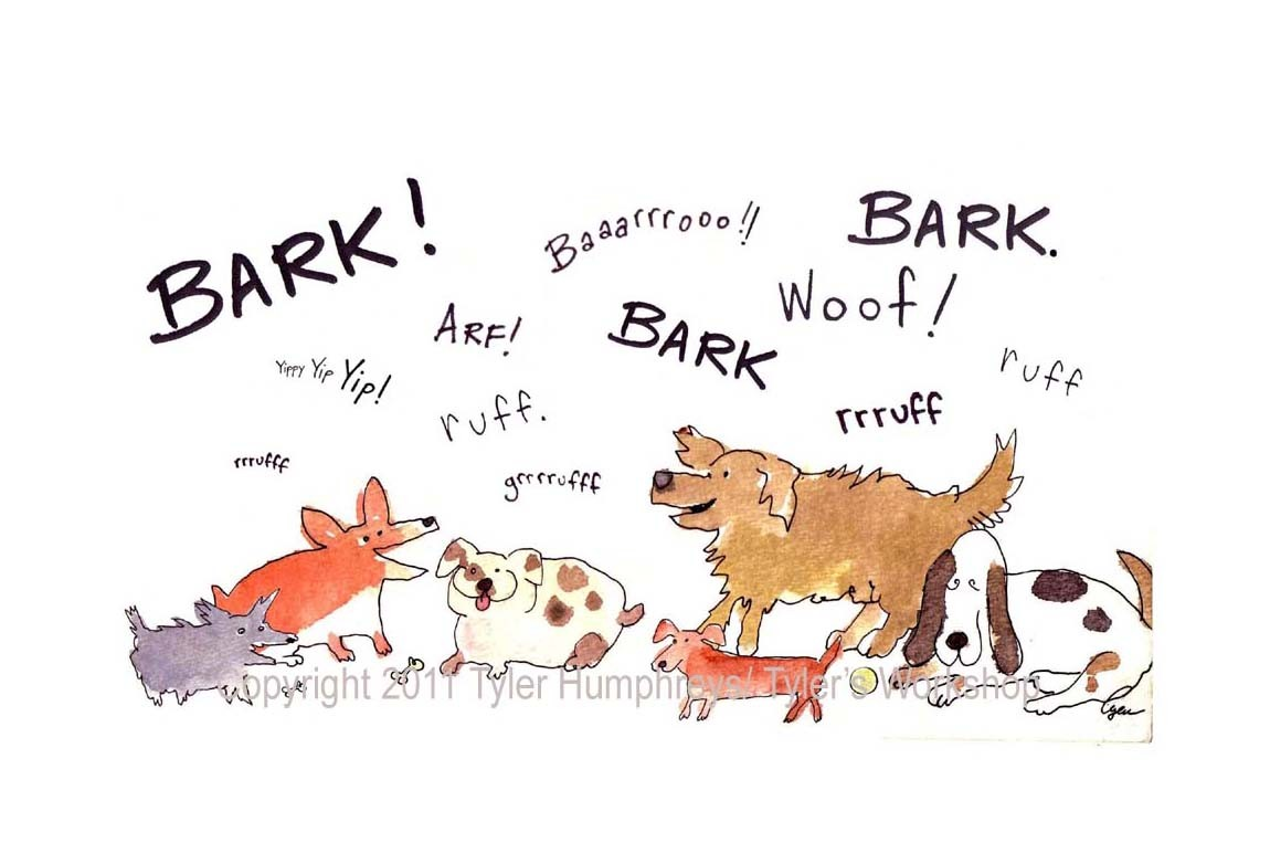 Dog Bark Pun