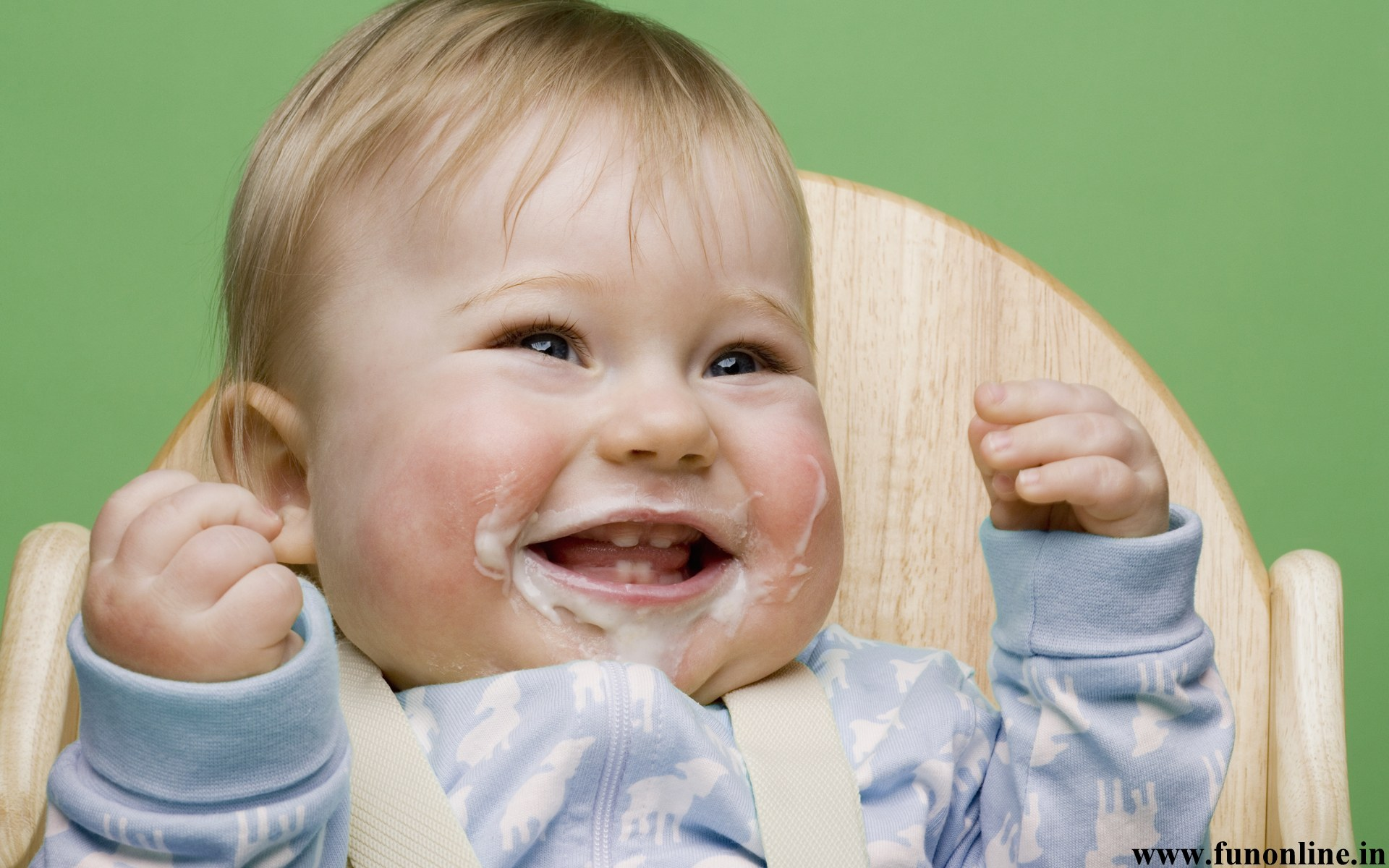 Funny Baby 39 Free Wallpaper