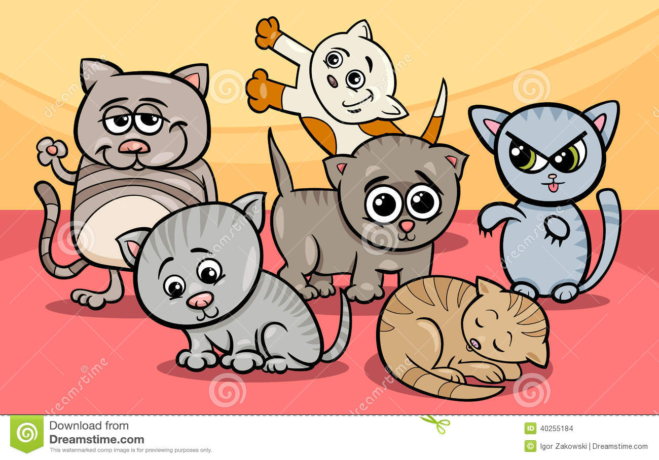 Funny Cartoon Cat 46 Cool Wallpaper Funnypicture Org