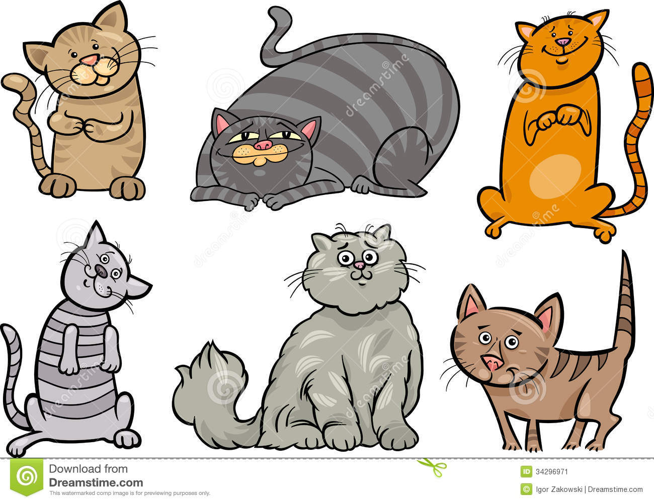 Funny Cartoon Cats 7 Desktop Background Funnypicture Org